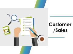 Customer Sales Ppt PowerPoint Presentation Ideas Inspiration