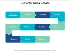 Customer Sales Service Ppt PowerPoint Presentation Professional Background Designs Cpb