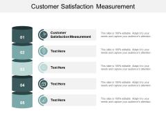 Customer Satisfaction Measurement Ppt PowerPoint Presentation Icon Cpb