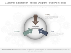 Customer Satisfaction Process Diagram Powerpoint Ideas