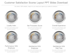 Customer Satisfaction Scores Layout Ppt Slides Download