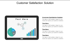 Customer Satisfaction Solution Ppt PowerPoint Presentation Pictures Portrait Cpb