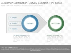 Customer Satisfaction Survey Example Ppt Slides