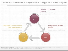 Customer Satisfaction Survey Graphic Design Ppt Slide Template