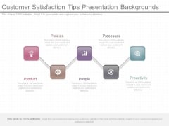 Customer Satisfaction Tips Presentation Backgrounds
