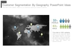 Customer Segmentation By Geography Powerpoint Ideas
