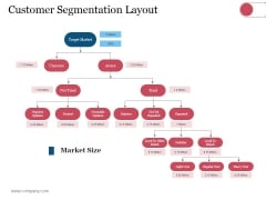 Customer Segmentation Layout Ppt PowerPoint Presentation File Influencers