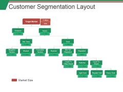 Customer Segmentation Layout Ppt PowerPoint Presentation Portfolio Example File