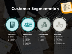 Customer Segmentation Marketing Ppt PowerPoint Presentation Outline Summary