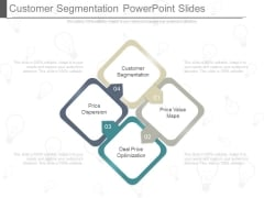 Customer Segmentation Powerpoint Slides