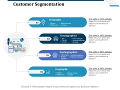 Customer Segmentation Ppt PowerPoint Presentation Professional Slides
