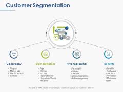 Customer Segmentation Ppt PowerPoint Presentation Styles Background Images