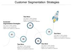 Customer Segmentation Strategies Ppt PowerPoint Presentation Ideas Slides