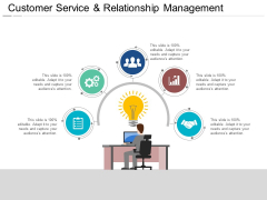 Customer Service And Relationship Management Ppt PowerPoint Presentation Professional Example Introduction