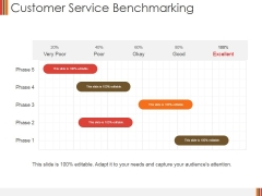 Customer Service Benchmarking Ppt PowerPoint Presentation File Example