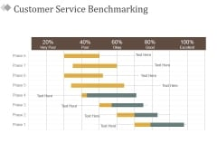 Customer Service Benchmarking Ppt PowerPoint Presentation Ideas Icon