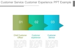 Customer Service Customer Experience Ppt Example