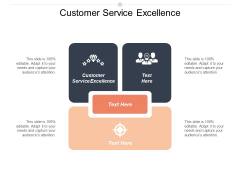 Customer Service Excellence Ppt PowerPoint Presentation Gallery Show Cpb