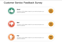 Customer Service Feedback Survey Ppt PowerPoint Presentation Outline Background Image