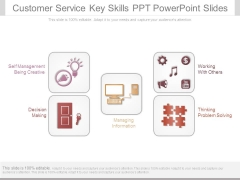 Customer Service Key Skills Ppt Powerpoint Slides