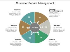 Customer Service Management Ppt PowerPoint Presentation Portfolio Graphics Template Cpb