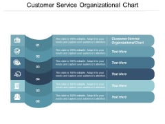 Customer Service Organizational Chart Ppt PowerPoint Presentation Model Demonstration