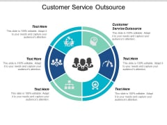 Customer Service Outsource Ppt PowerPoint Presentation Infographics Designs Cpb