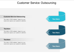 Customer Service Outsourcing Ppt PowerPoint Presentation Infographic Template Backgrounds Cpb