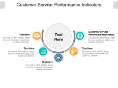 Customer Service Performance Indicators Ppt Powerpoint Presentation Ideas Slide Cpb
