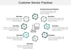 Customer Service Practices Ppt PowerPoint Presentation Infographic Template Summary Cpb