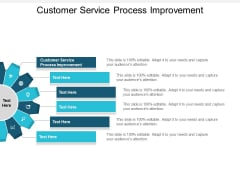 Customer Service Process Improvement Ppt PowerPoint Presentation Summary Files Cpb