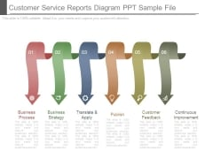 Customer Service Reports Diagram Ppt Sample File