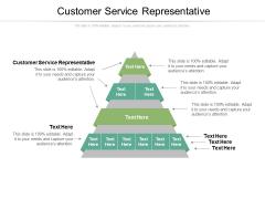 Customer Service Representative Ppt PowerPoint Presentation Styles Graphics Download Cpb Pdf