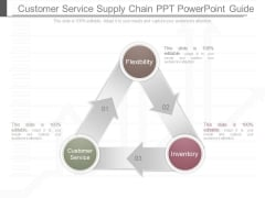 Customer Service Supply Chain Ppt Powerpoint Guide