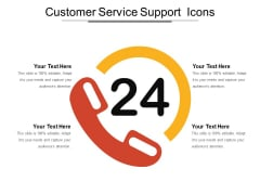 Customer Service Support Icons Ppt PowerPoint Presentation Outline Summary PDF