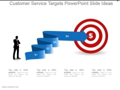 Customer Service Targets Powerpoint Slide Ideas