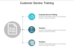 Customer Service Training Ppt PowerPoint Presentation Gallery Styles Cpb
