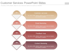 Customer Services Powerpoint Slides