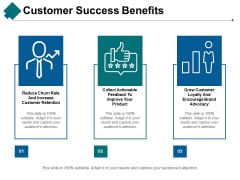 Customer Success Benefits Ppt PowerPoint Presentation Professional Aids