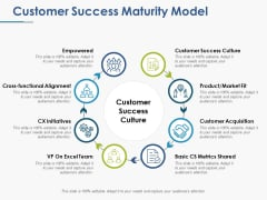 Customer Success Maturity Model Ppt PowerPoint Presentation Pictures Introduction
