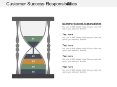 Customer Success Responsibilities Ppt PowerPoint Presentation Visual Aids Pictures Cpb
