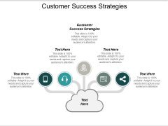 Customer Success Strategies Ppt PowerPoint Presentation Gallery Information Cpb