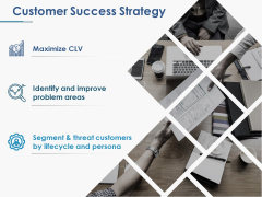 Customer Success Strategy Ppt PowerPoint Presentation Show Elements