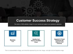 Customer Success Strategy Ppt PowerPoint Presentation Slides Icons