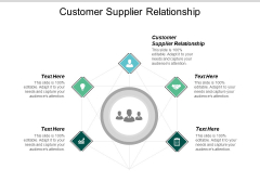 Customer Supplier Relationship Ppt PowerPoint Presentation Ideas Tips Cpb