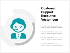 Customer Support Executive Vector Icon Ppt Powerpoint Presentation Show Example File