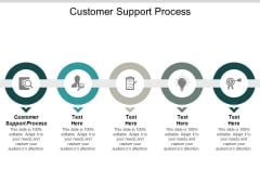 Customer Support Process Ppt PowerPoint Presentation Gallery Outline Cpb