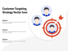 Customer Targeting Strategy Vector Icon Ppt File Sample PDF