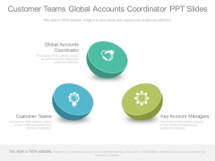 Customer Teams Global Accounts Coordinator Ppt Slides