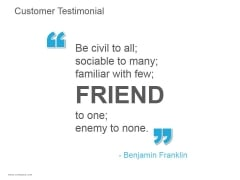 Customer Testimonial Ppt PowerPoint Presentation Introduction